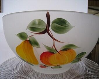 Vintage Large fruit salad bowl
