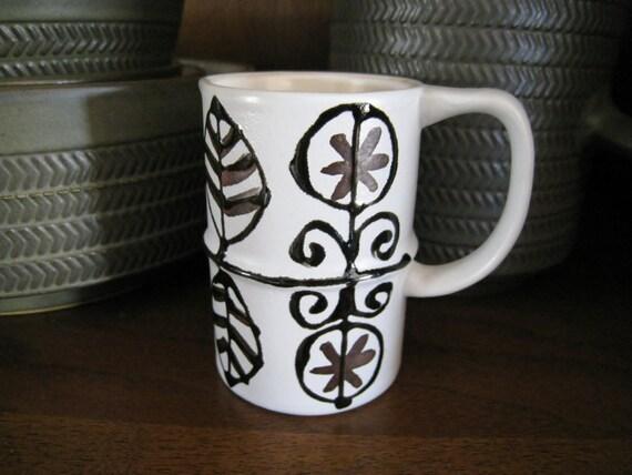mid century danish modern cream pitcher