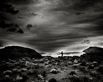Landscape Photography Art - Monochrome Modern Wall Art - Black and White Fine Art Photography