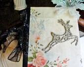 Handmade & Beautiful Deer Theme blank journal