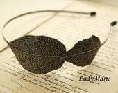 Haarreifen mit Blättern Elfen Traum Antik