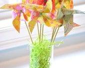 Spring Pinwheel Bouquet - Pastel