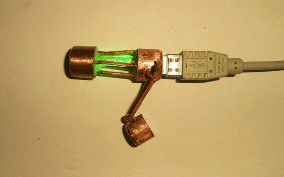 USB Flash 8 GB steampunk