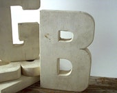 """Sign Letter, """"B"""" , Marquee Letter, Wood"""