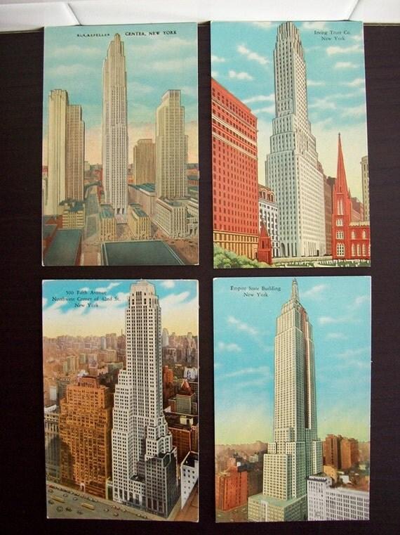 Post Cards NewYork Buildings 4