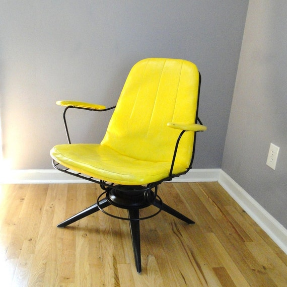 Reserved For Dave Vintage Homecrest Chair Mid Century Eames