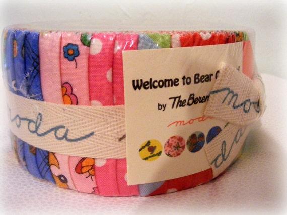 Moda Bear Country Jelly Roll 2.5 inch strips
