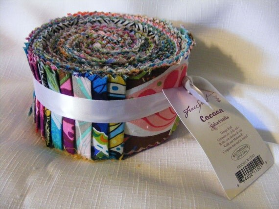 Free Spirit - Cocoon Jelly Roll  2.5 inch strips