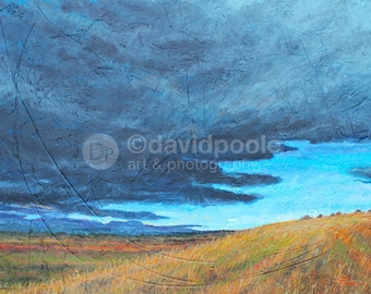 Storm Over Field in Northern Colorado. Photography Print of painting 8x10 Fine Art Northern Colorado Landscape