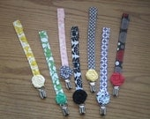 Binky Leashes (pacifier strap) for babies, Great baby gift
