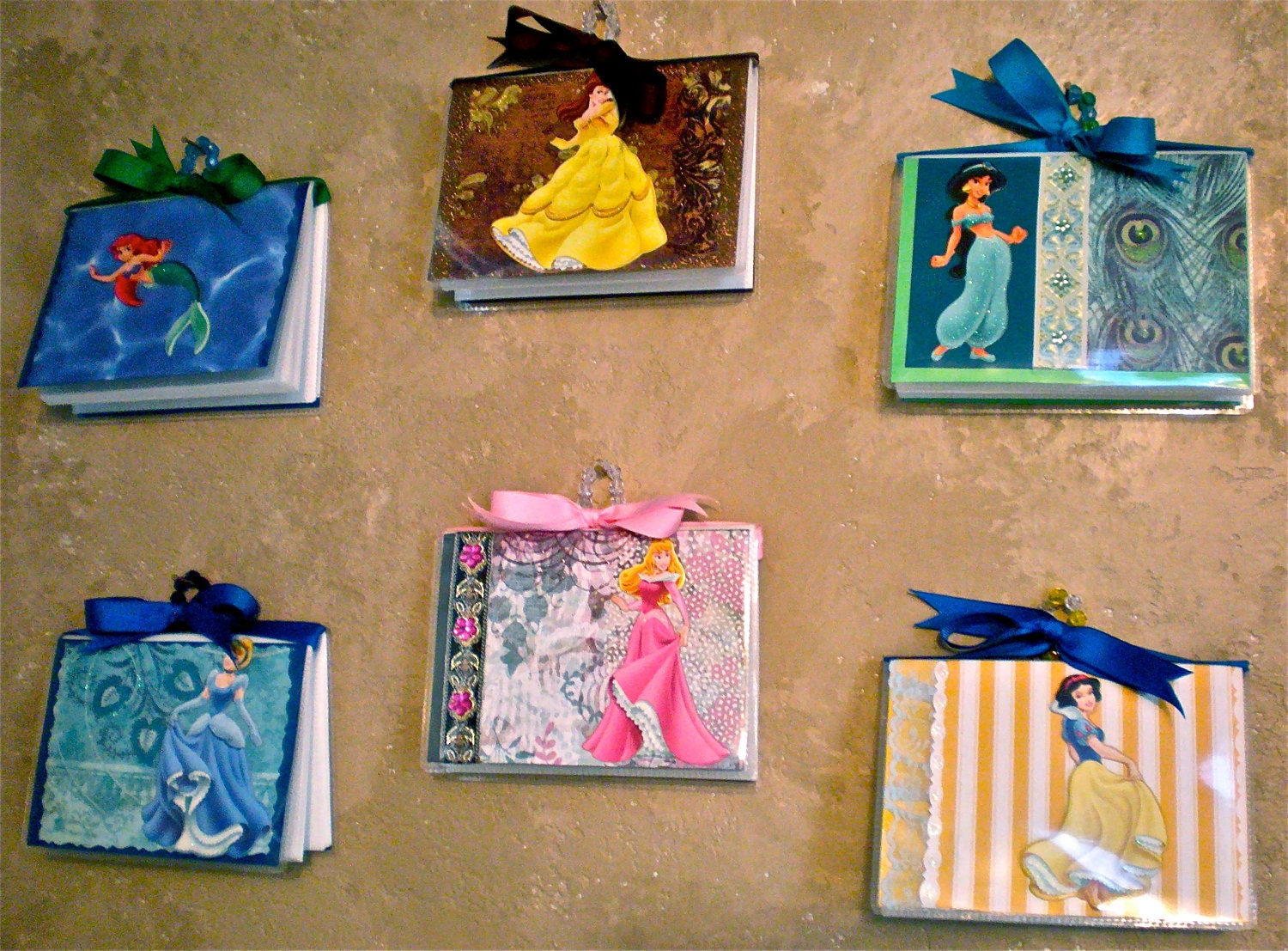 Princess Wall Art 6 disney princess wall art / albums