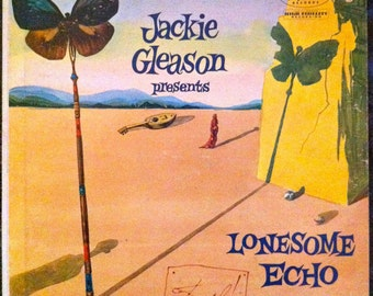 "Salvadore Dali /Jackie Gleason ""LONESOME ECHO"" LP 1955"