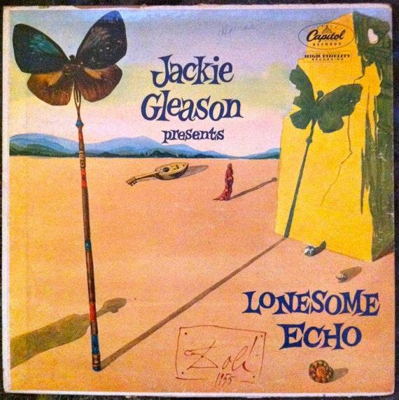 "Salvadore Dali /Jackie Gleason ""LONESOME ECHO"" LP 1955"
