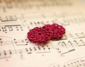 Stillwater Crochet Earrings - Purple
