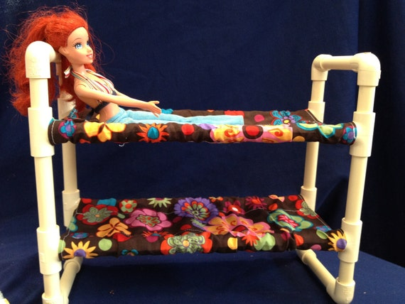 Doll Bunk Bed For Barbie Dolls Beanie Babies Stuffed