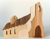 Architectural Wooden Toy - Church