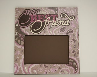 My Best Friend table top picture frame