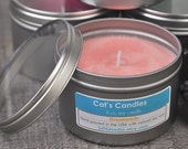 DREAMSICLE Soy Candle 8oz Tin - ((Highly Scented))