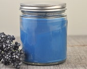 BLUEBERRY COBBLER Soy Candle 8oz Jar - ((Highly Scented))