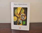 Vintage Cookbook- Recipes: A Quintet of Cuisines by Time Life Books - Foods of the World 1970