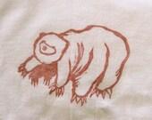 "water bear ""standing on all 8"" children's  t-shirt"