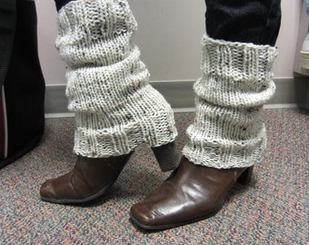 Short Knit Leg Warmers