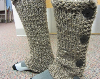 Short Knit Leg Warmers