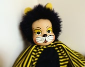 SPECIAL OFFER. Decorative doll tiger with porcelain head.