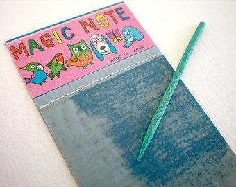 Tiny magic slate from 1950s Japan