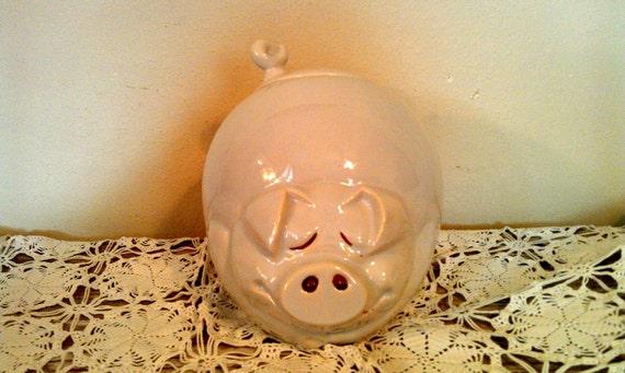 Vintage McCoy Cookie Jar Quigley Pig Cookie Jar 1970's