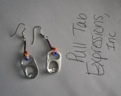 Pull Tab Earrings-Multi Colored READY TO SHIP