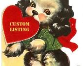 Custom Listing for Robin