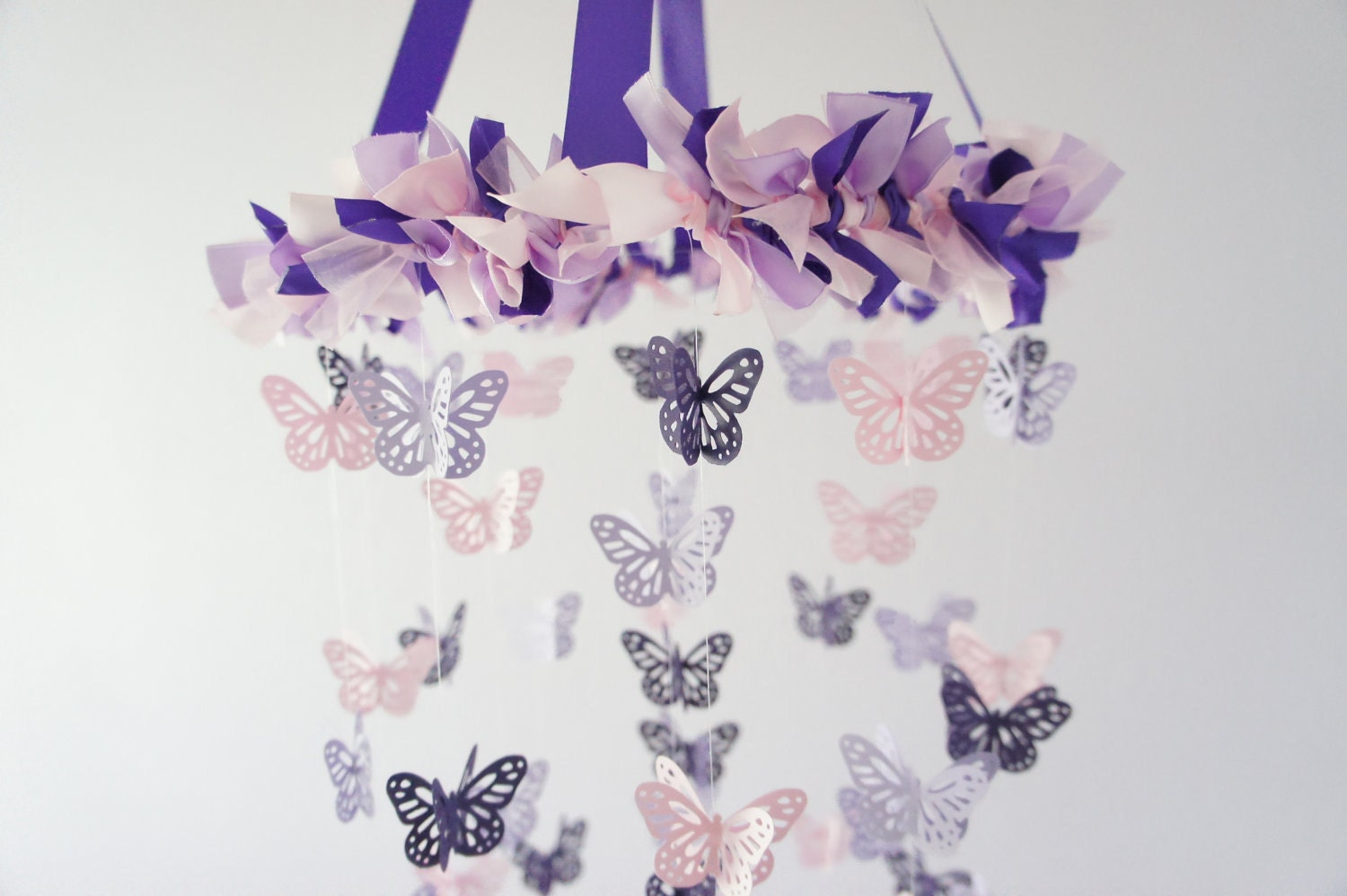 Popular items for butterfly mobile on Etsy