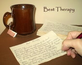 Best Therapy Poem - Handwritten Poetry - Grand Opening Sale