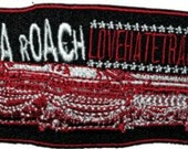 Papa Roach Casket Lovehatetragedy Embroidered Iron On Officially Licensed Applique Patch