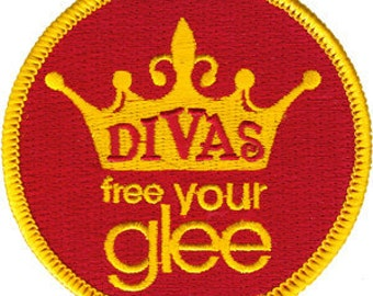 Glee Divas Embroidered Iron On Applique Patch