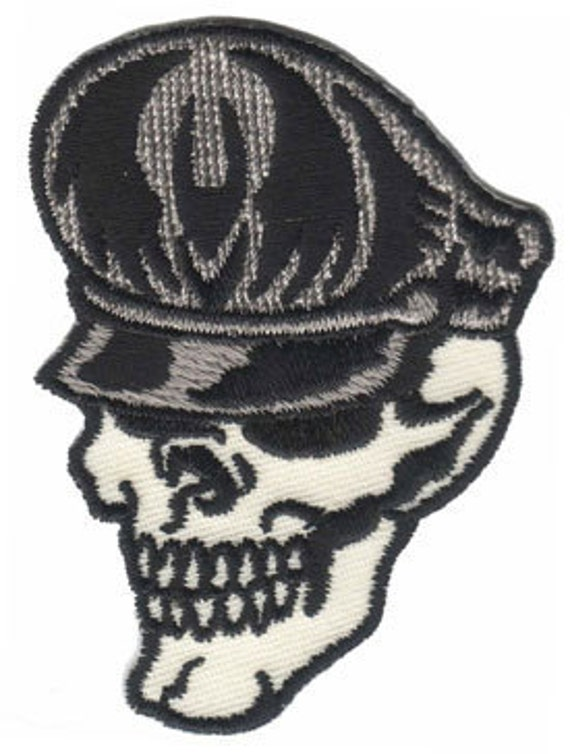 Artist Reed Party Punks Skull Master Embroidered Iron On Applique Patch FD 2807