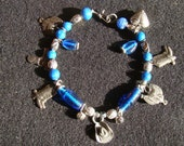 Cowgirl Up Beaded Collar - 10 inch - Awesome Charms
