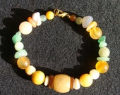 Natural Stone - Earthy Collar - 9.5 inches