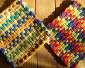 Charity Potholder - Handmade by child - ALL proceeds to Child Fund International - donation