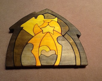 Wooden Nativity Puzzle