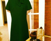On Hold--Emeralds Are A Girls Best Friends Shift Dress