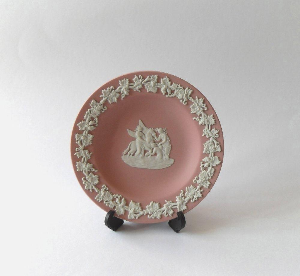 Wedgwood Pink Jasperware
