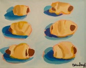Pigs in a Blanket - Signed Limited Edition print from original painting