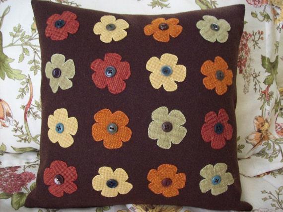 Bohemian Style Flower Pillow Slipcover