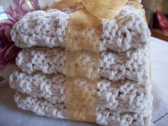 Ecru Variety Pack Dishcloth/Washcloth Set