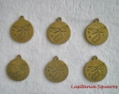 Guardian Angel for Love Charm Bronze Finished- 6pcs