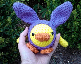Chicky Hop Crochet Pattern