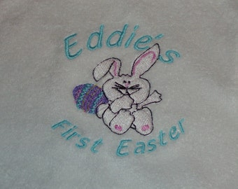 Personalized Embroidered Baby Bib