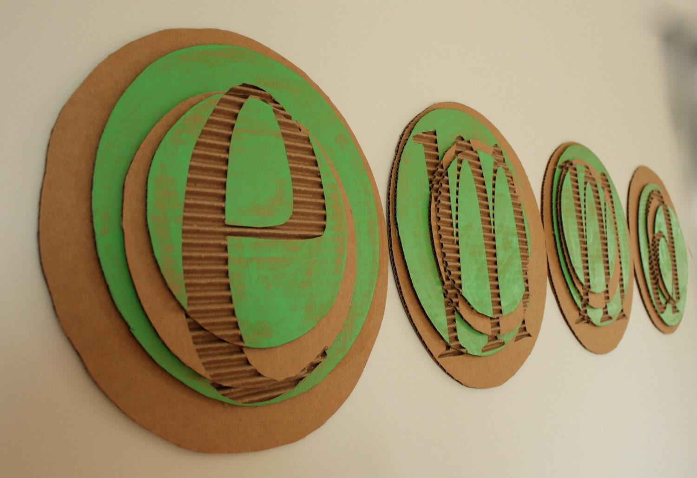 cardboard letters cardboard letters zoom